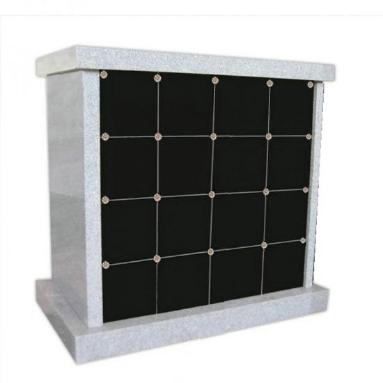 Granite 12 Niches Funeral Columbarium
