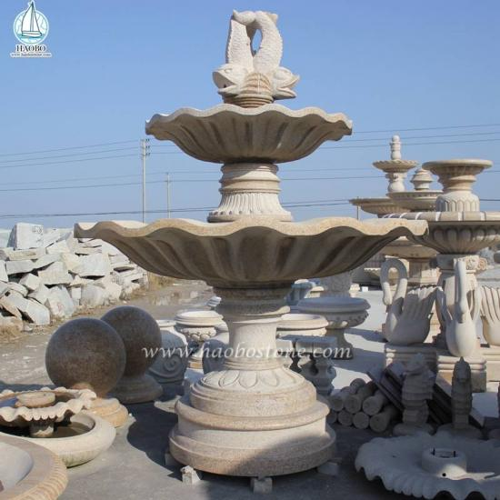 Granite Stone Carved Water Fountain