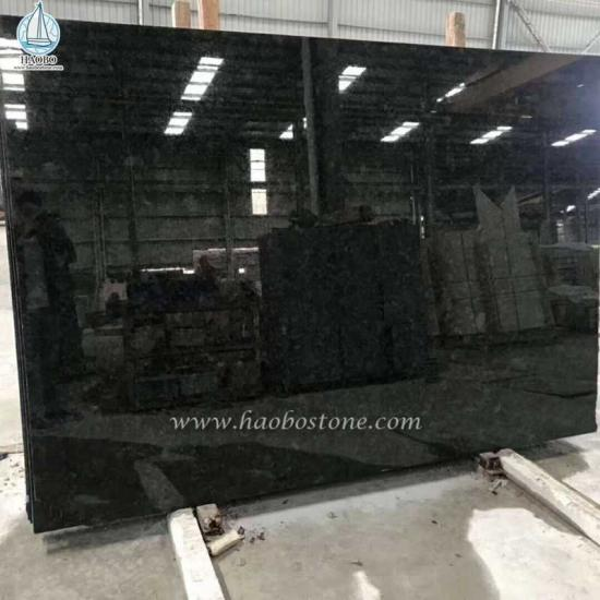 Brown Antique Black Granite Slab