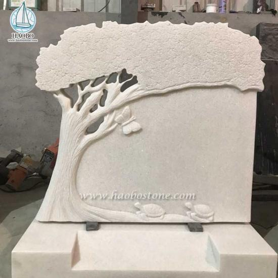 han white tree tombstone