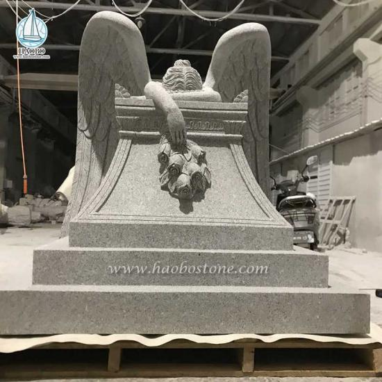 G603 Weeping Angel Tombstone